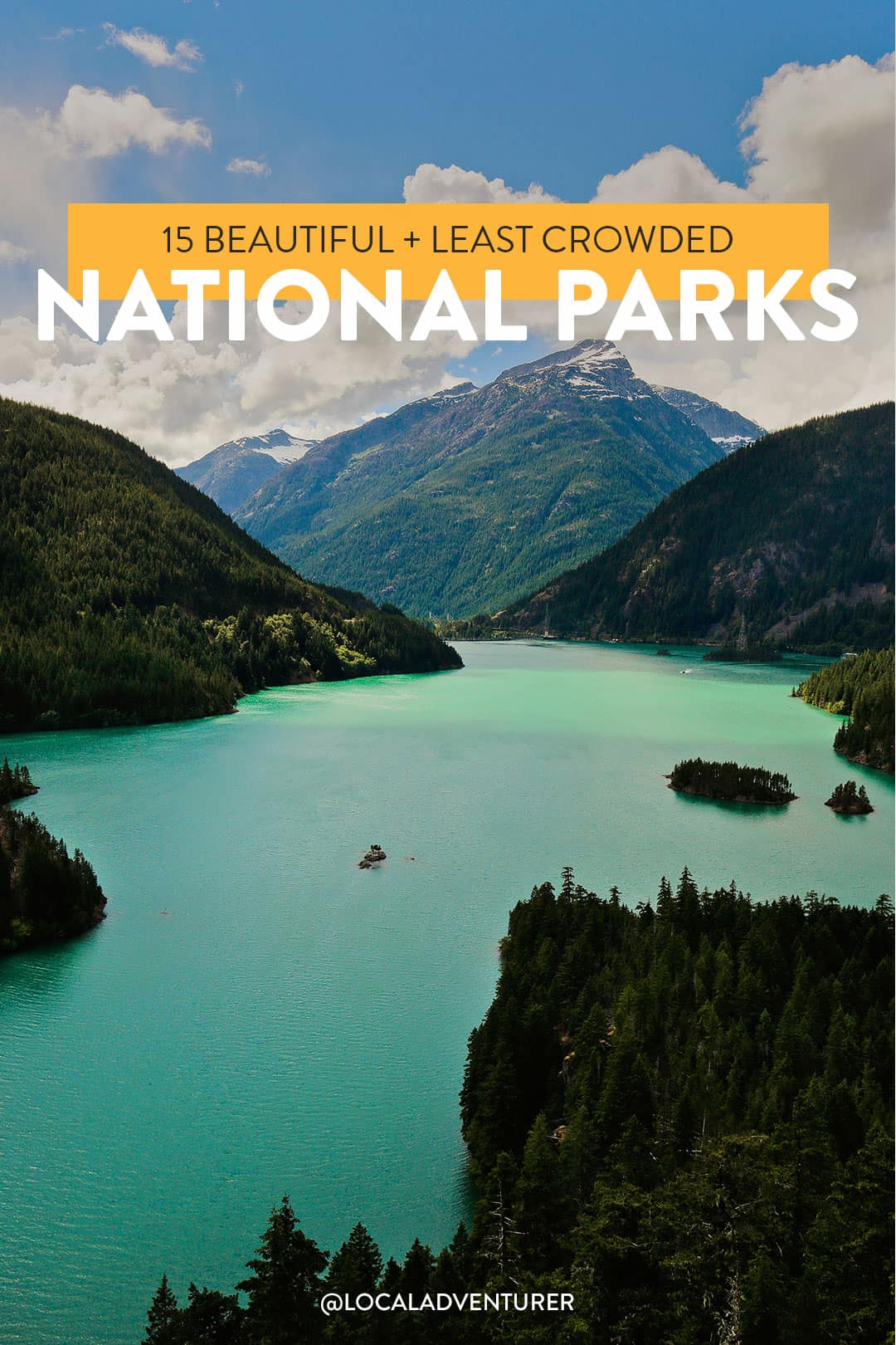 Least Visited National Parks