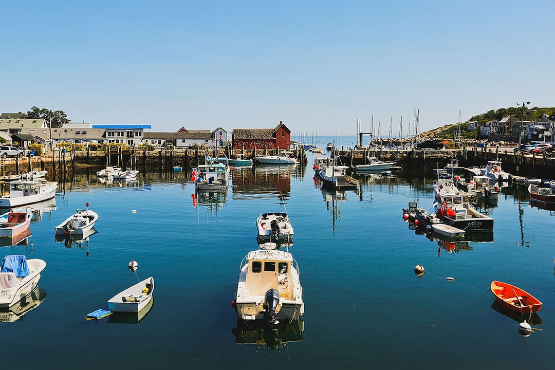 Rockport MA is one of the easiest one day trips from Boston