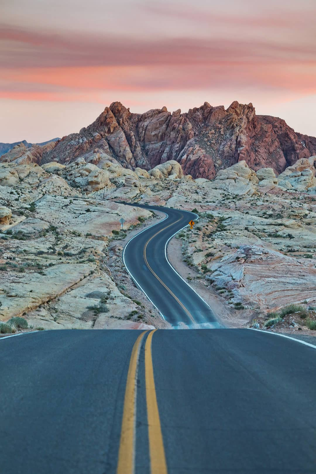 The Road at the Valley of Fire Las Vegas