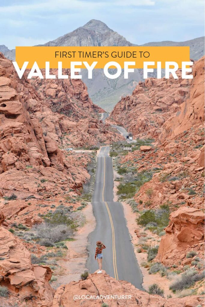 Valley of Fire State Park Road Shot