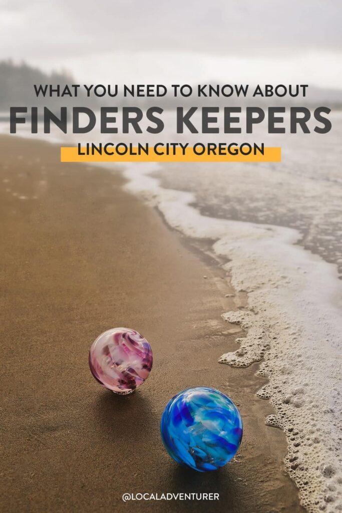 Lincoln City Glass Floats - Finders Keepers