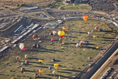 Albuquerque Balloon Rides at the Albuquerque Balloon Festival