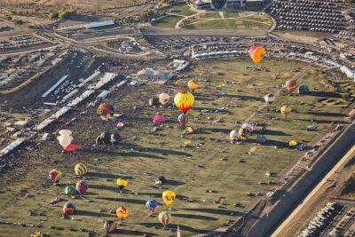 Albuquerque Balloon Rides at the Albuquerque Balloon Festival