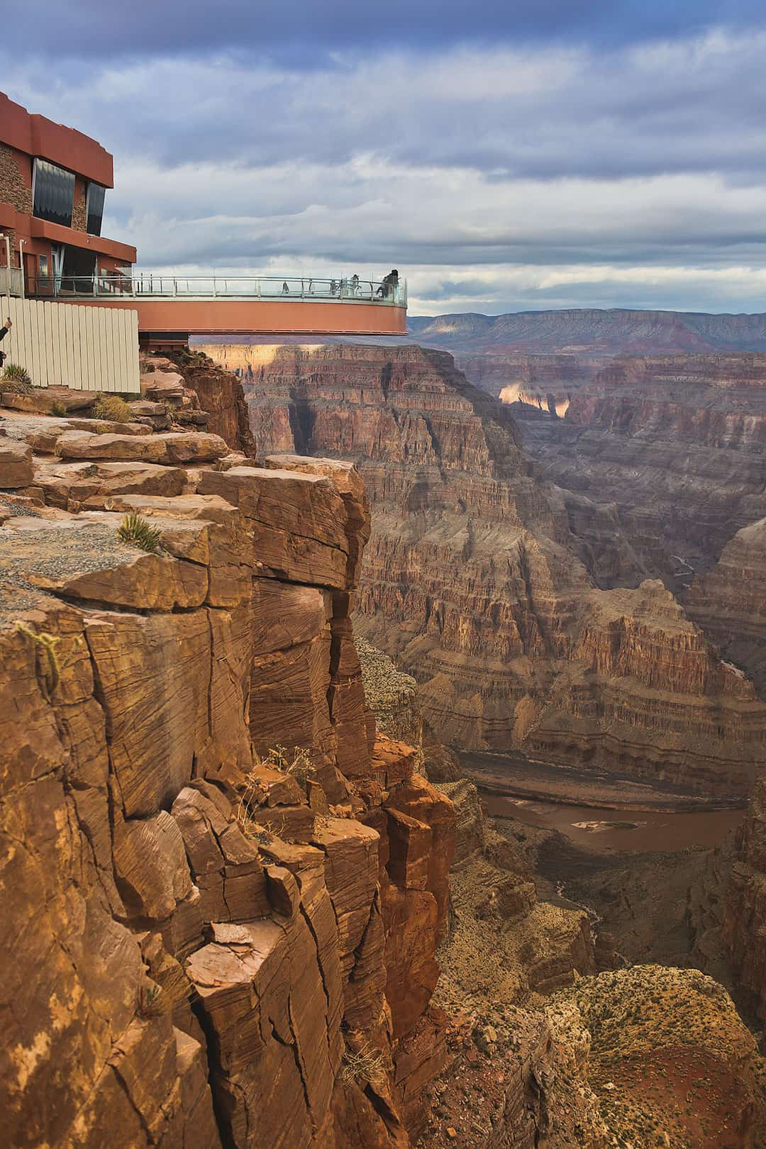 Las Vegas to Grand Canyon Glass Walk Skywalk