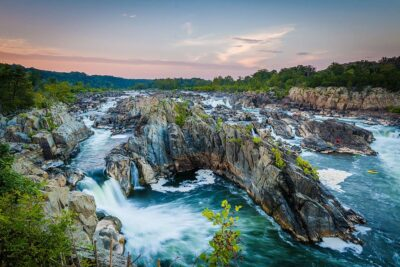 Great Falls Park Virginia + 15 Best Day Trips from DC