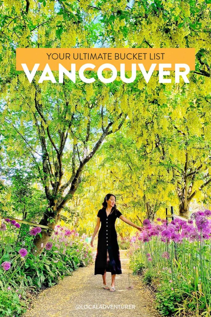 Your Ultimate Vancouver Bucket List