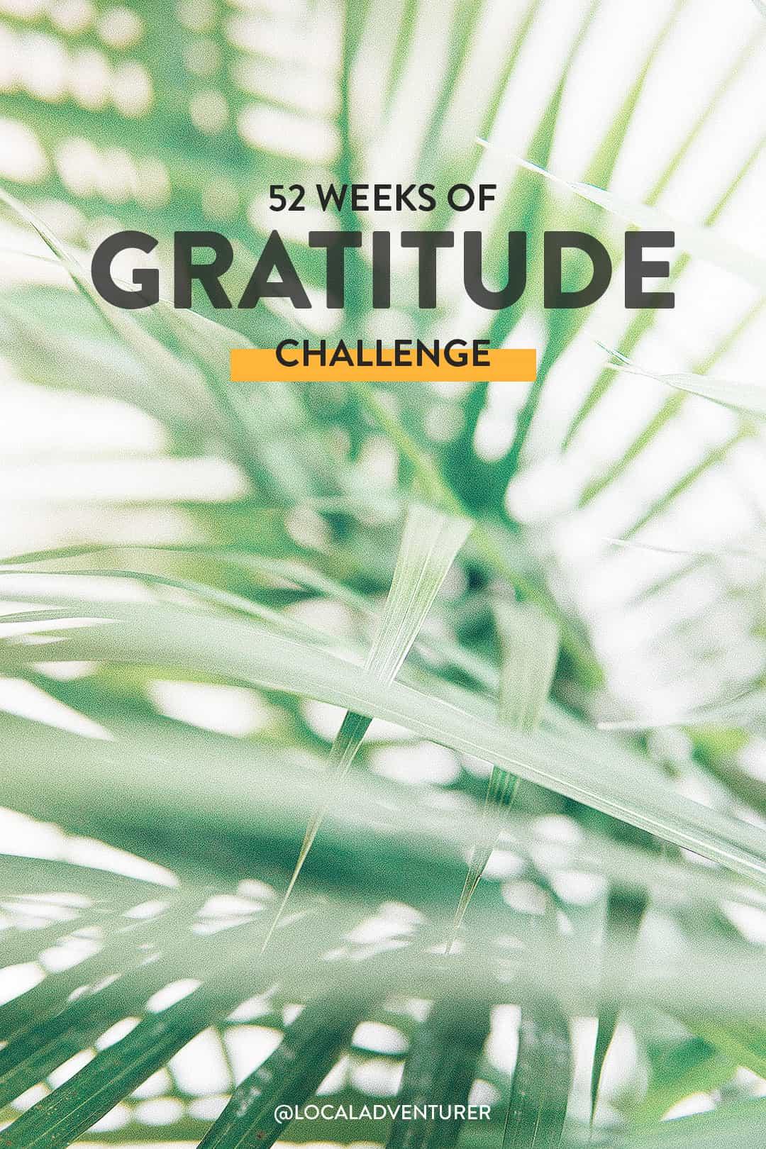 52 Weeks of Gratitude Challenge