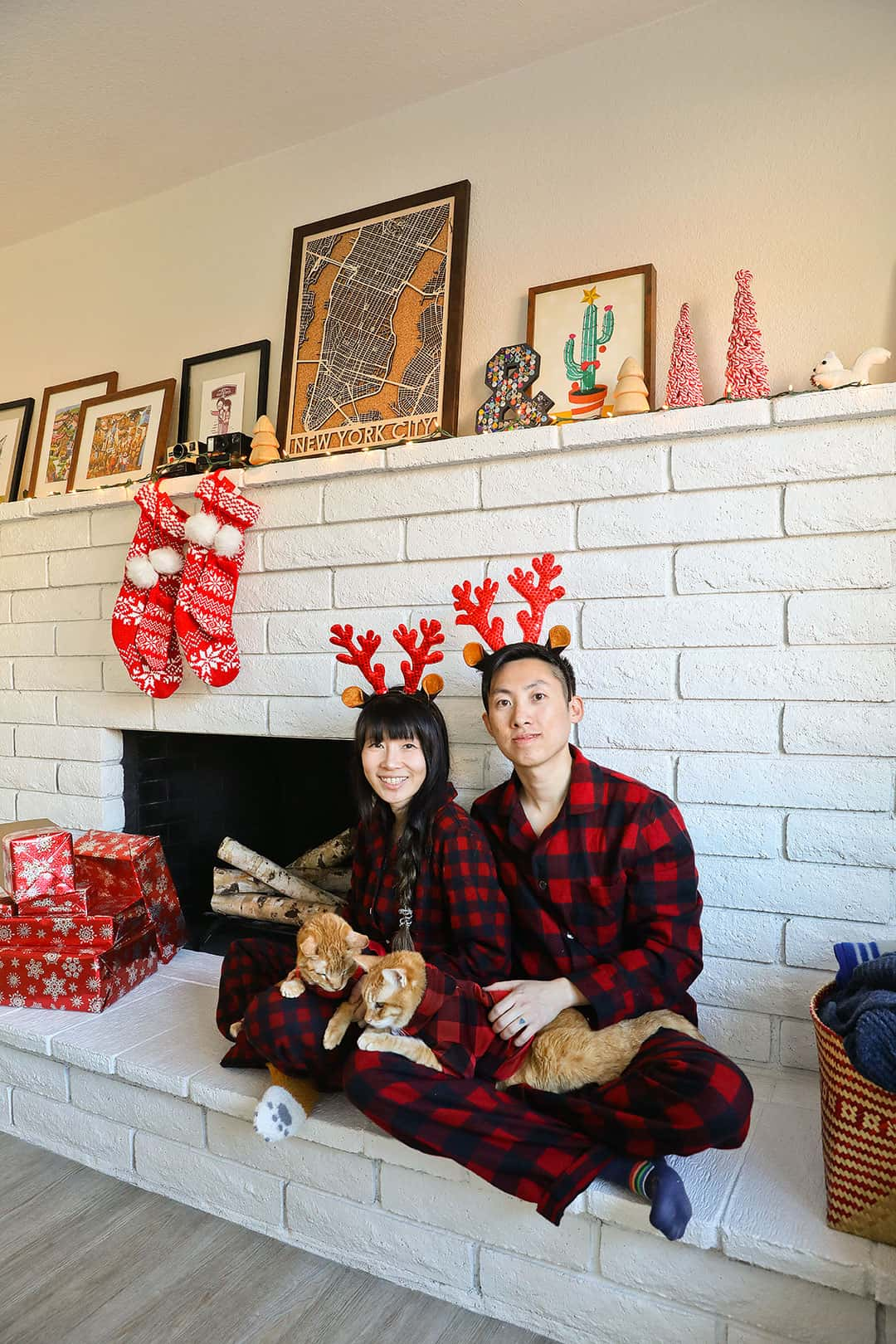 Buffalo Plaid Christmas Pajamas from LL Bean