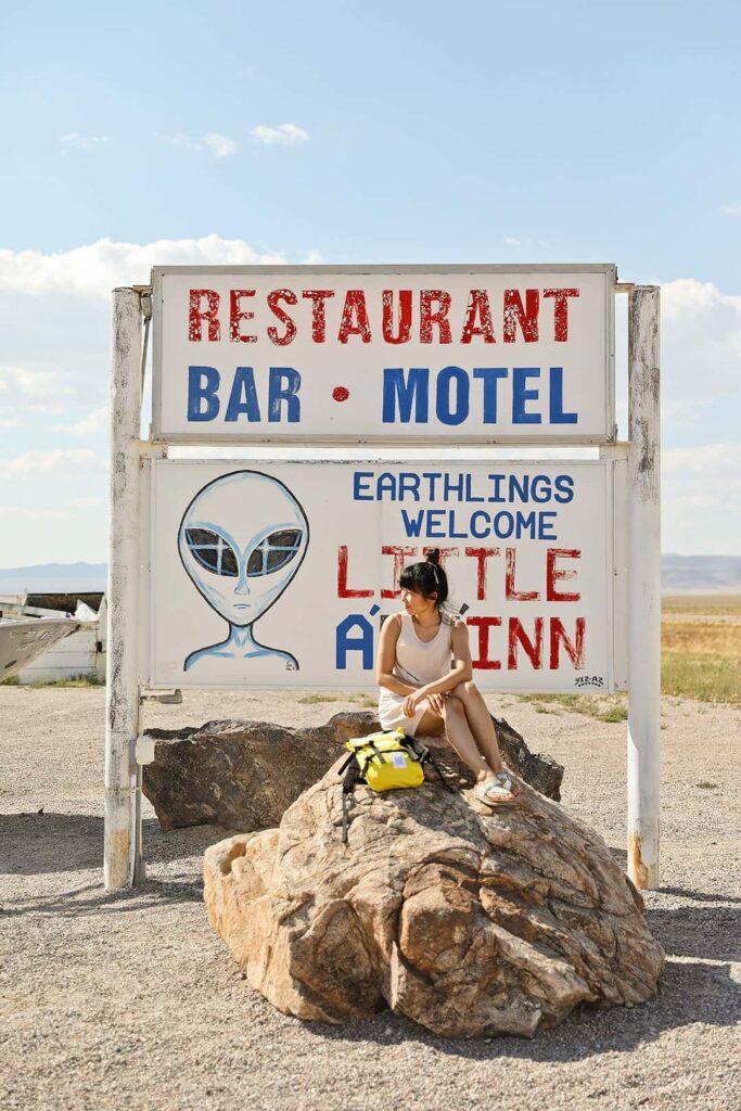 Rachel NV Hotel - Little Ale Inn on the Extraterrestrial Road Trip