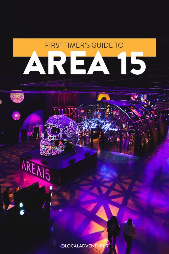 5 Things You Can't Miss at Area 15 in Las Vegas