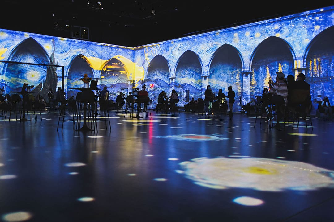 van gogh the immersive experience las vegas at area 15