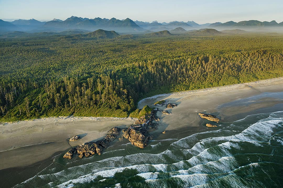 Vancouver Island Pacific Rim National Park Reserve BC