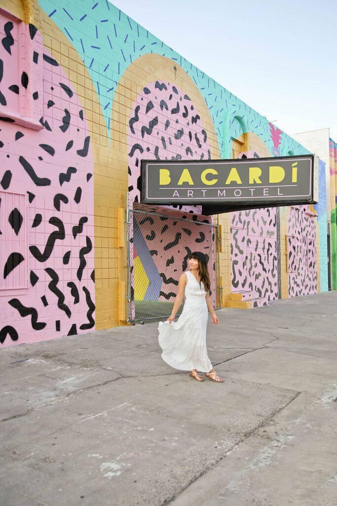bacardi art motel las vegas