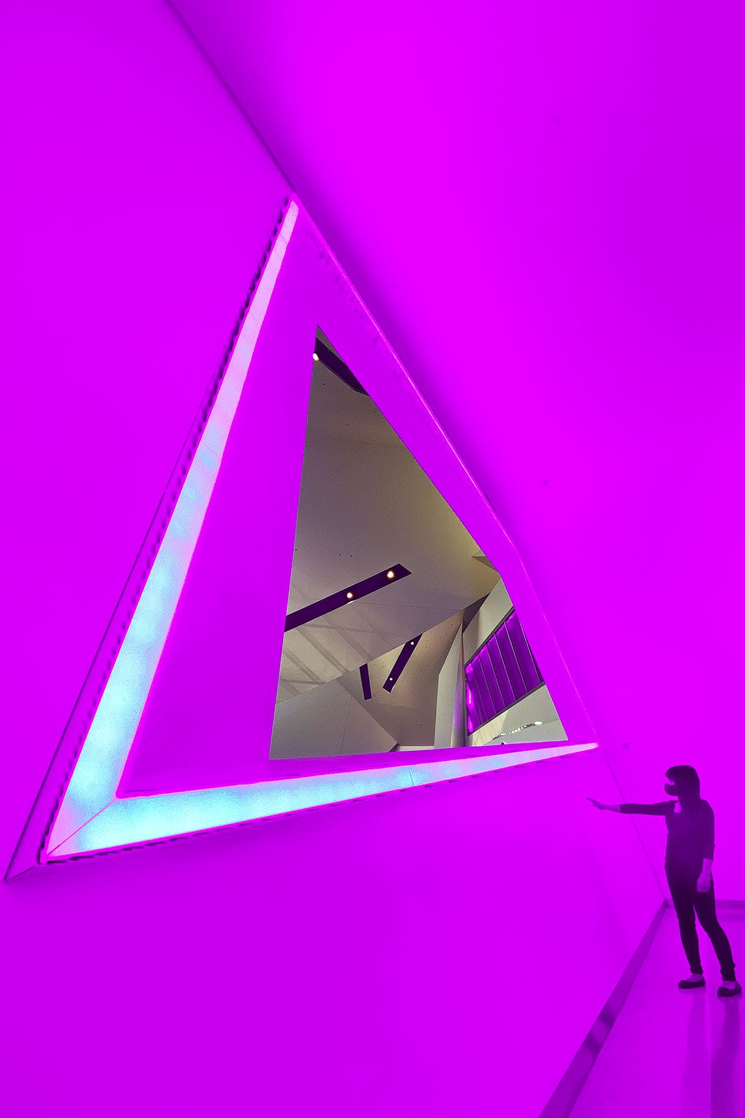 James Turrell Las Vegas at the Crystals