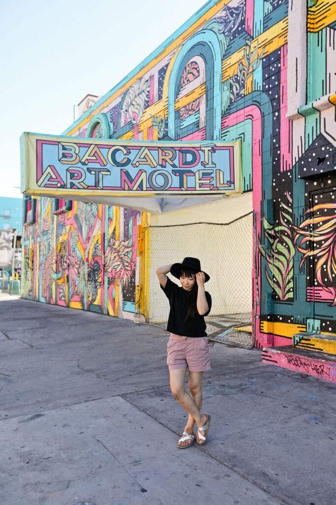 Bacardi Art Motel - Las Vegas Murals