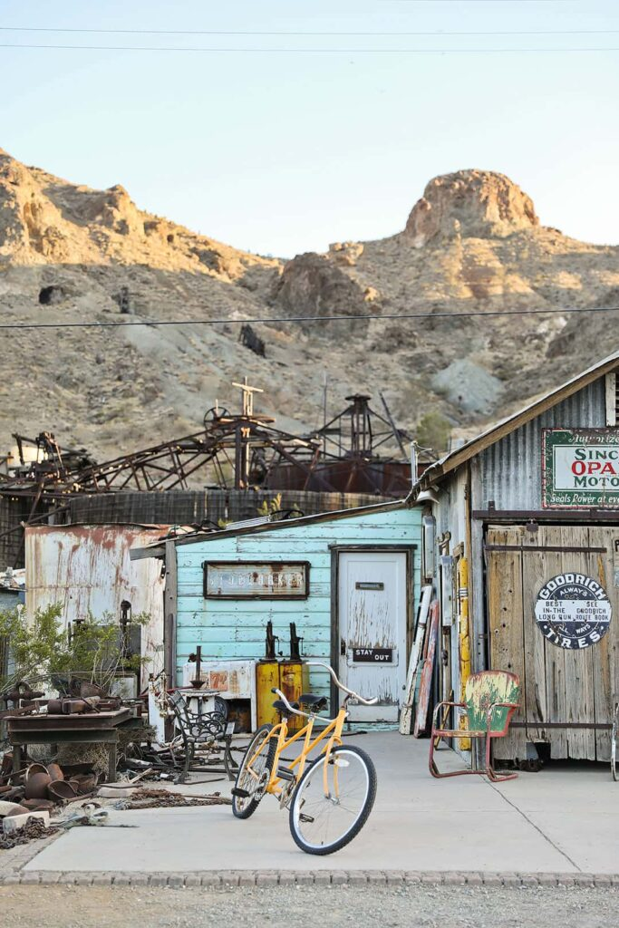 ghost town of nevada