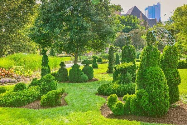 topiary park in columbus ohio