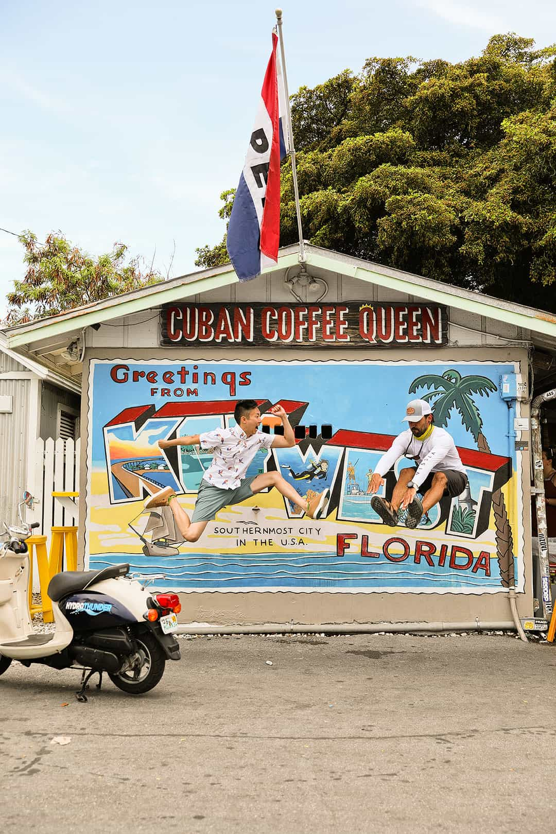 greetings from key west mural + 7 best things to do in key west florida