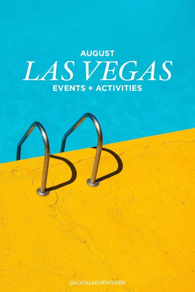 las vegas events august