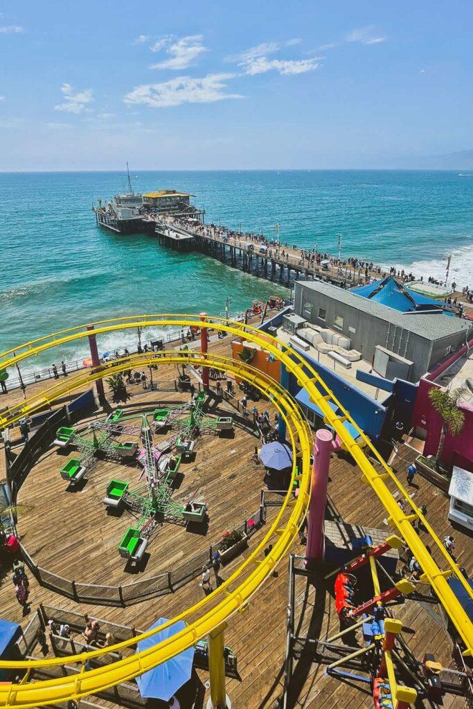 santa monica pier attractions