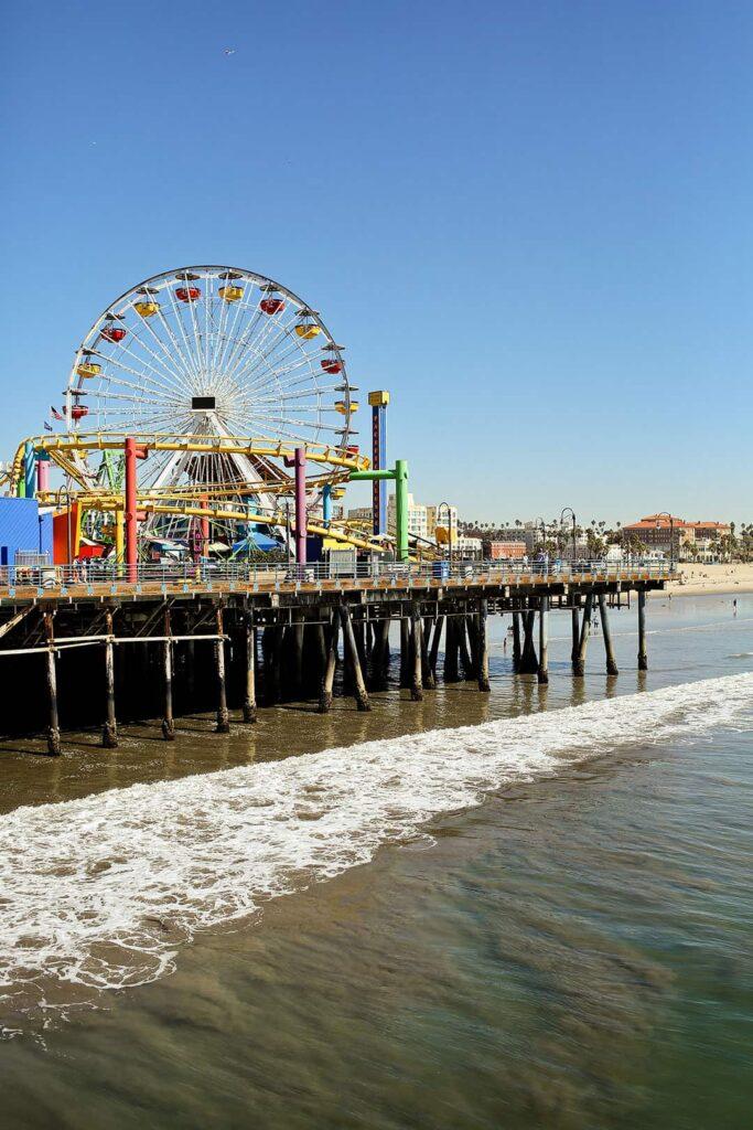 things to do santa monica pier