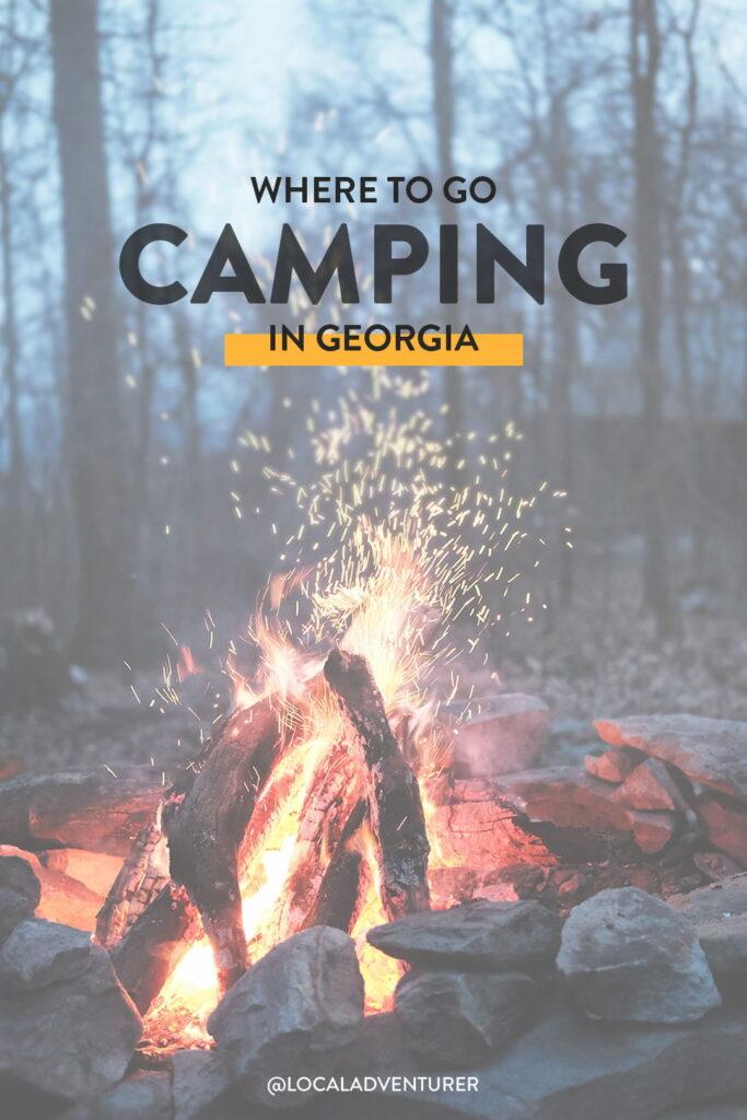 best camping sites in ga
