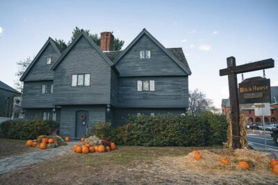 the witch house of salem + 15 best places to visit in october in usa