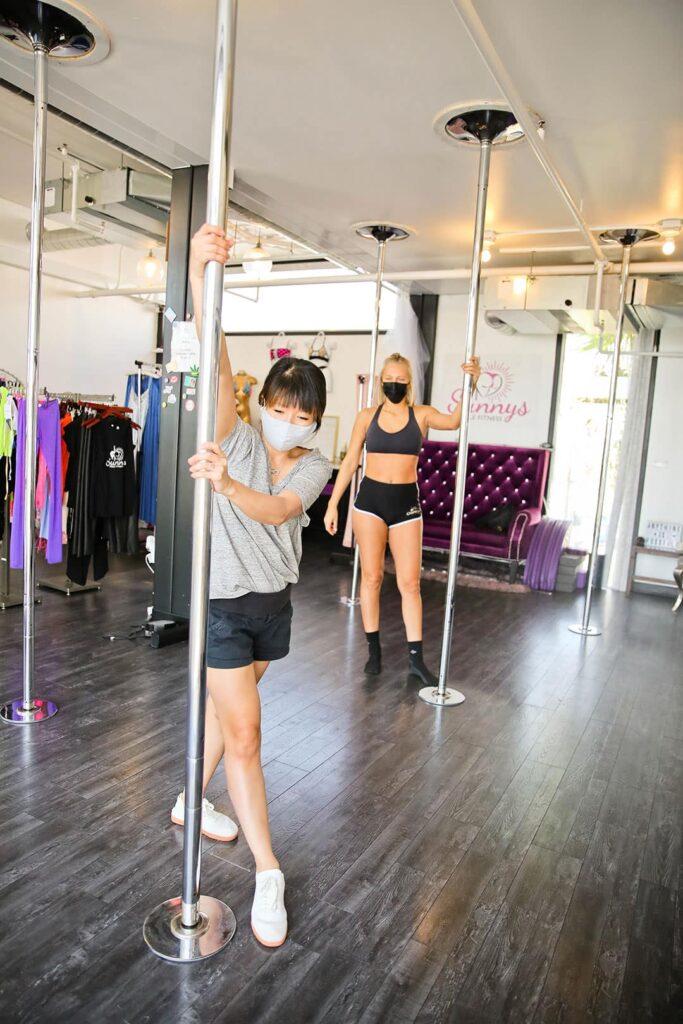 pole dancing classes las vegas